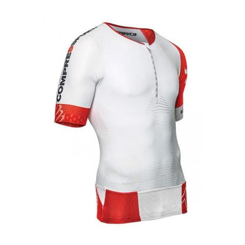 Camisa Compressport Triathlon Tr3 Shirt Ss